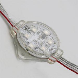 đèn led dây - led 6 bóng 5050 full màu