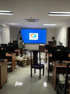 Thi công màn hình Led-P3 Caliang (4)