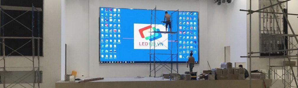 Thi công màn hình Led P4-0