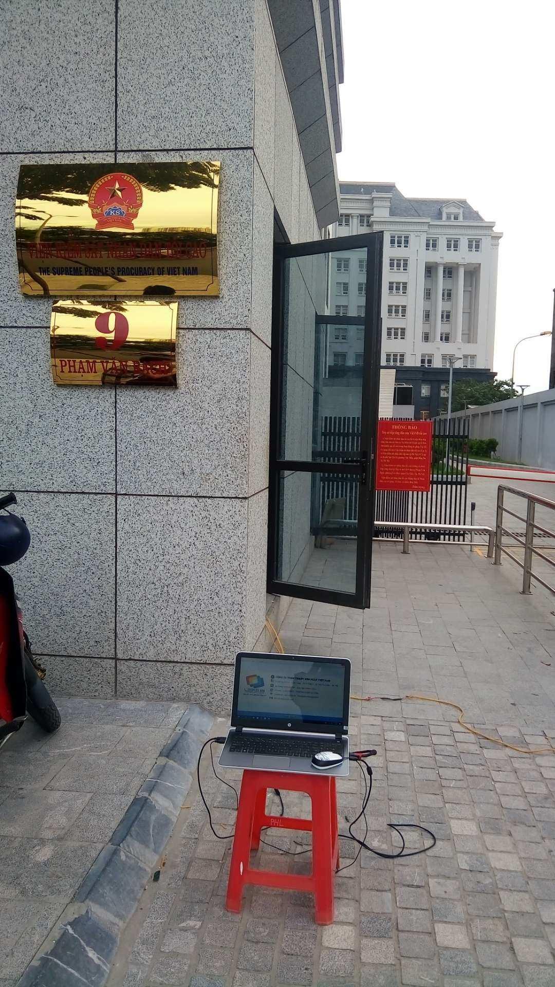 Thi công màn hình Led P6 RSM Shenzhen-1