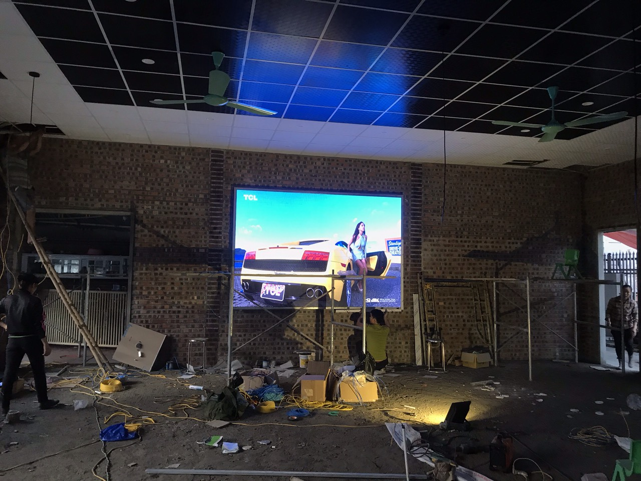 Thi công màn hình led P3 Screen Shenzhen 1