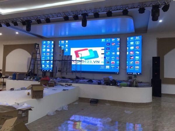 Thi công màn hình led P4 sreen shenzhen-4