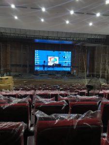 Thi công Màn hình led P3 RSM Cho UBND tỉnh Bắc Giang
