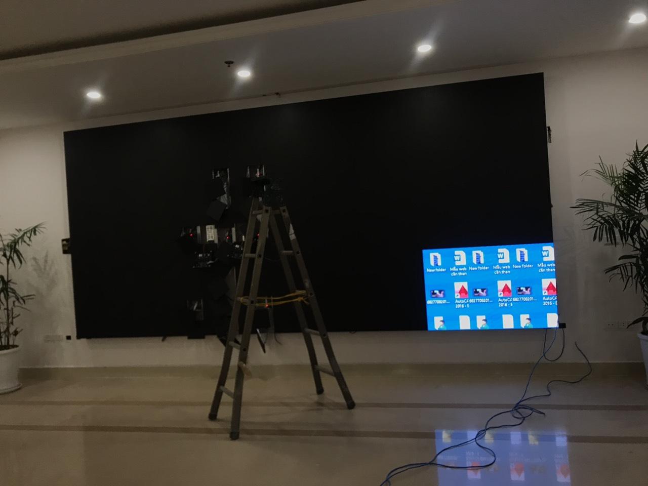 Thi công màn hình led P3 MST