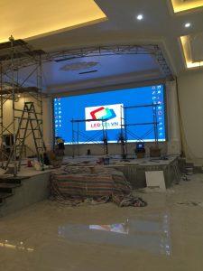 Thi công màn hình led P4 Cailiang (10)