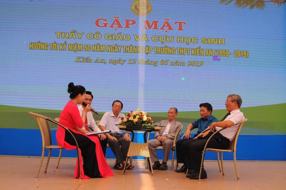 kỷ niệm 60 năm thành lập THPT Kiến An