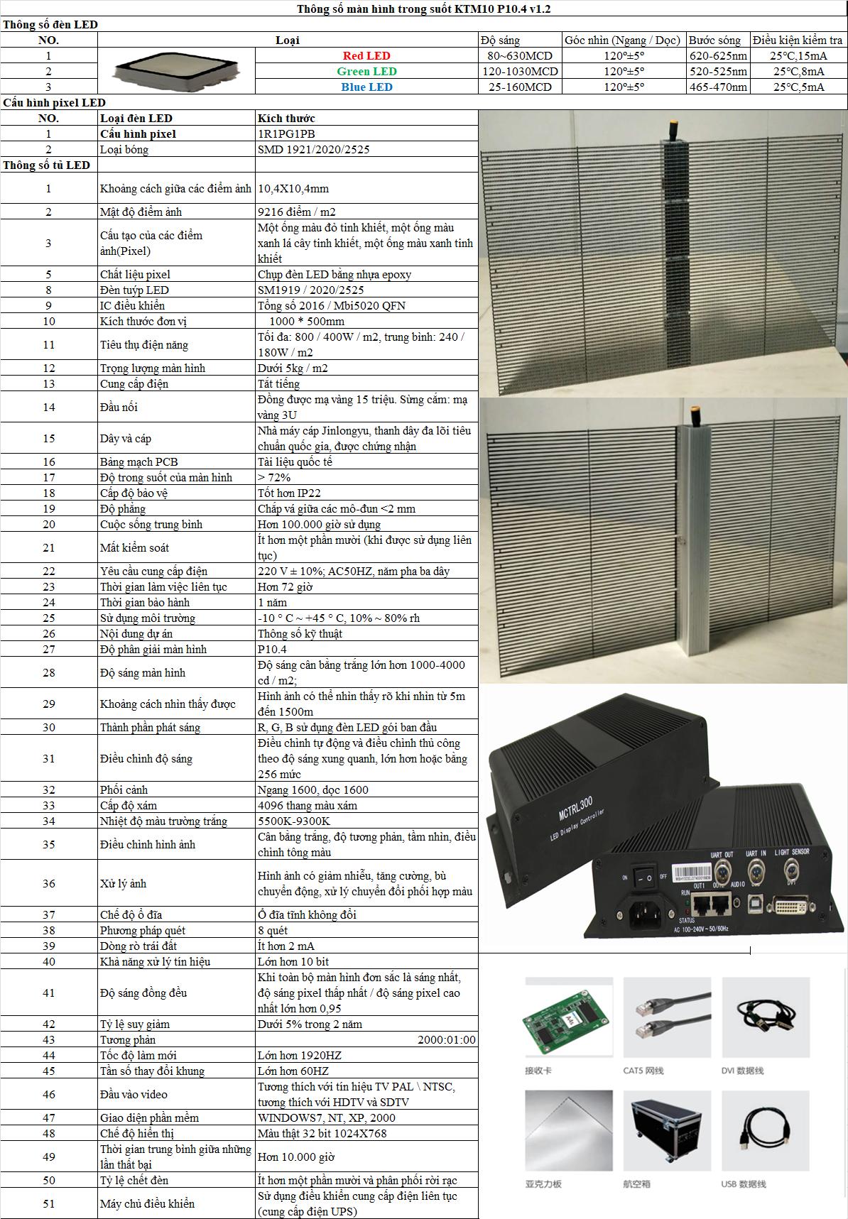 màn hình led P10.4 trong suốt (1)