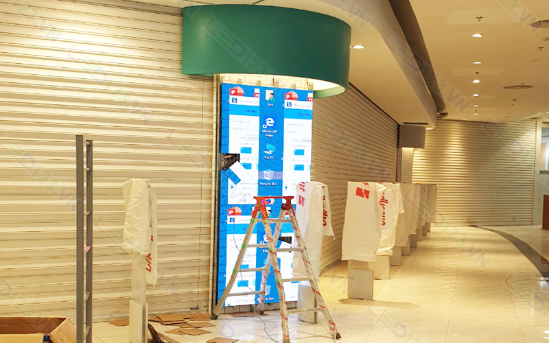 Màn hình led p3 tại AEON Mall (1)